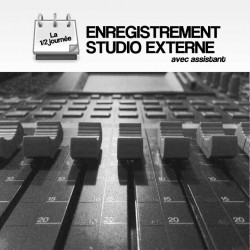 ENREGISTREMENT STUDIO - EXTERNE