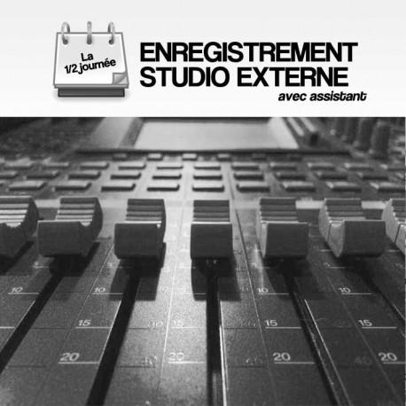 ENREGISTREMENT STUDIO - EXTERNE